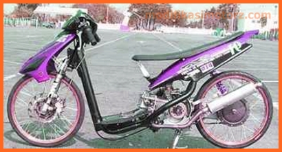 mio-sporty-modifikasi-drag-merah-hitam