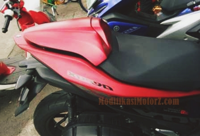 single-seat-aerox-155-modifikasi