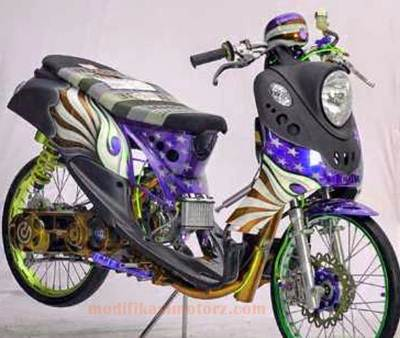Modifikasi-Motor-Yamaha-Fino-125-Sporty