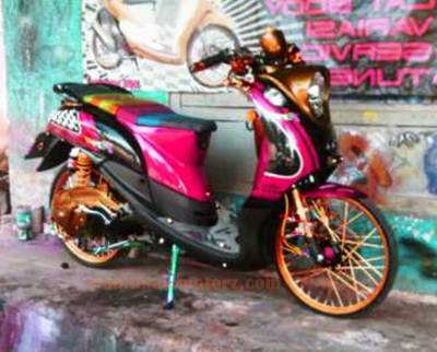Modifikasi-Yamaha-Fino-125-Thailook