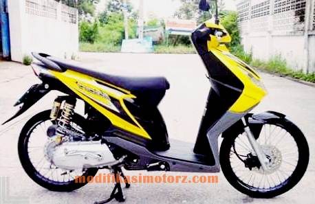 modifikasi motor beat esp simple