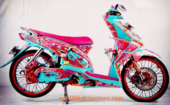 modifikasi-motor-beat-karbu-air-brush