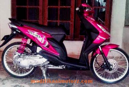 modifikasi-motor-beat-karbu-warna-merah-2