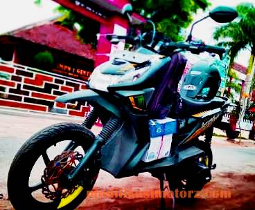 modifikasi motor beat street hitam