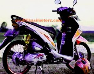 modifikasi motor beat street ring 17