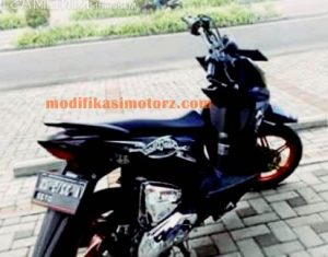 modifikasi motor beat street simple dan sederhana