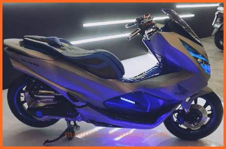 modifikasi-honda-pcx-2018-Futuristic-Techno