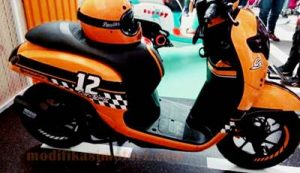 modifikasi-motor-scoopy-2017-simple-cafe-racer
