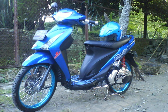 Modifikasi Suzuki Spin Warna