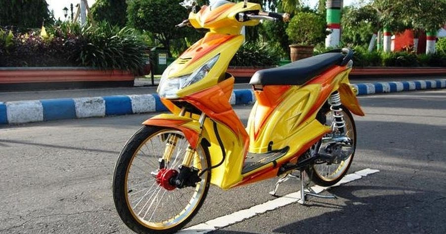 Model Modifikasi Honda Beat Terkini