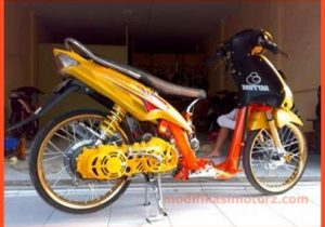 mio-sporty-modifikasi-warna-kuning-drag-style