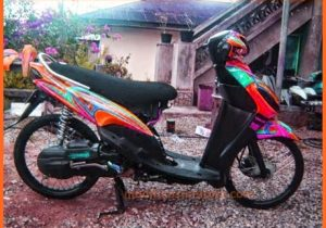 modifikasi-motor-mio-sporty-2009-custom-warna-kuning