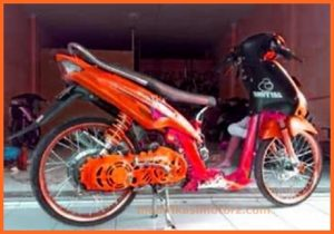 modifikasi-motor-mio-sporty-2009-kuning-custom
